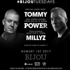 """Tommy from """"Power"""" @ Bijou ft. Millys"""